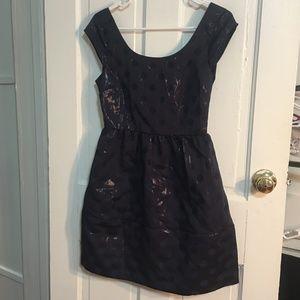 American Eagle Outfitters Shiny Polka Dot Dress